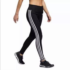 Adidas 3 stripe Active Tight CLIMALITA Size Medium